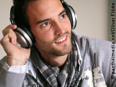 Photo: Man with headphones