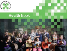 Photo: Cover of the health book