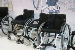 Photo: light wheelchairs of the company panthera; Copyright: beta-web/Heiduk