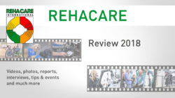 Graphic: Review REHACARE 2018; Copyright: Messe Düsseldorf