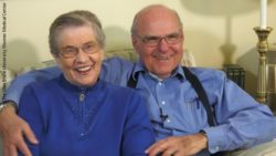 Photo: Tom Moore and his wife LaVonne; Copyright: The Ohio State University Wexner Medical Center
