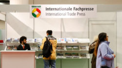 Photo: International trade press stand