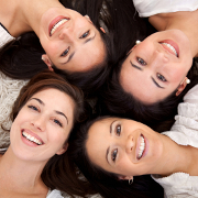 Photo: Smiling group of women