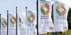 Photo: REHACARE flags in the wind
