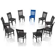 Photo: A round of chairs