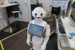 Photo: Pepper the caring robot; Copyright: beta-web/Schlüter