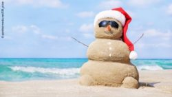 Photo: Sandy snowman at the beach; Copyright: panthermedia.net/EM_prize
