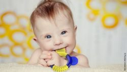 Photo: The teether for children with Down Syndrome; Copyright: Purdue University