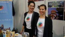 Photo: Two Portuguese Women at their Booth at REHACARE; Copyright: beta-web/Blume