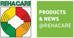 Graphic: Brand of PRODUCTS & NEWS @REHACARE