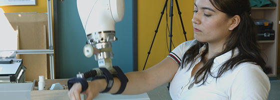 "Photo: Title photo - linked to video ""Therapy helper inRehaRob: Robot assisted rehabilitation after a stroke"""