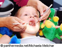 Photo: Boy at the dentist