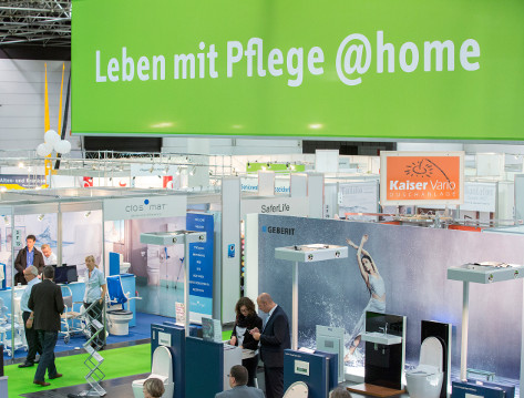 Photo: Living with care @home; © Messe Düsseldorf