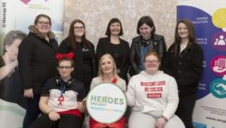 Photo: Group picture for the HEROES campaign; Copyright: Mencap NI