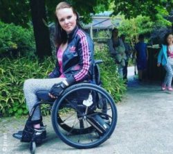 Foto Schallenberg ina schallenberg that s how she rolls rehacare trade fair