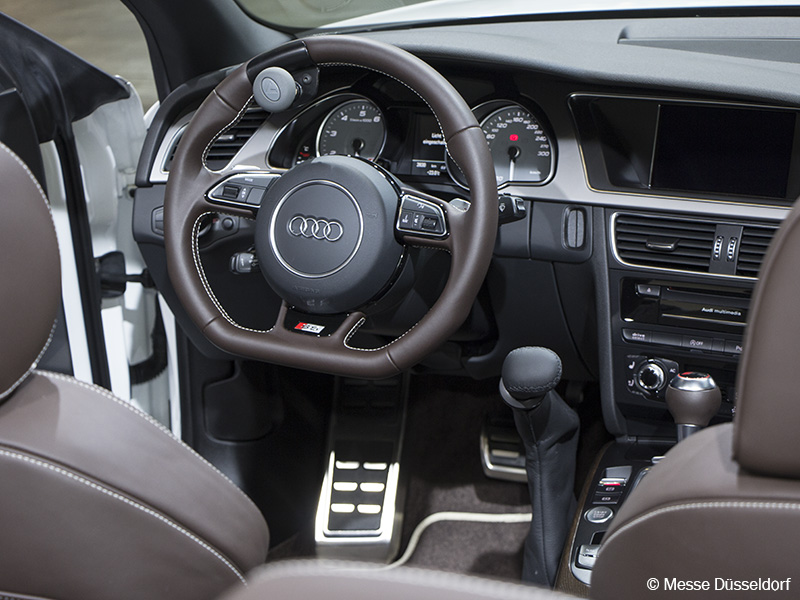 Photo: Interior of the Audi S5