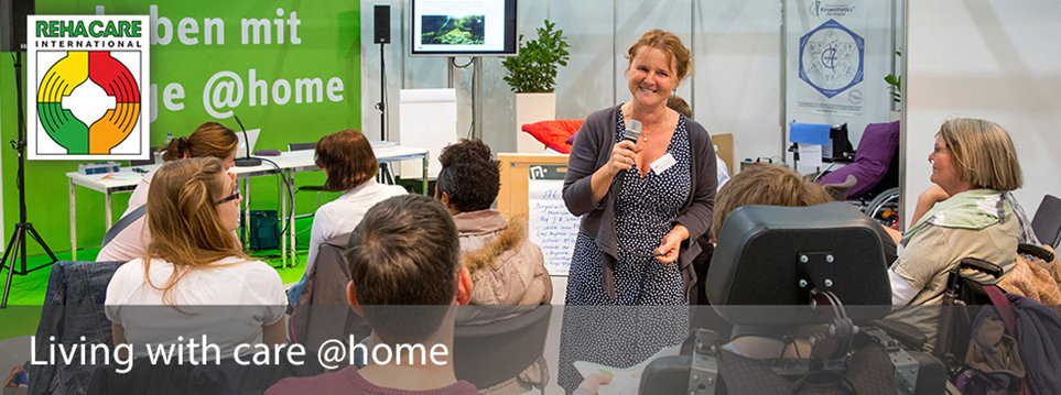 Title Living with care @home; © Messe Düsseldorf