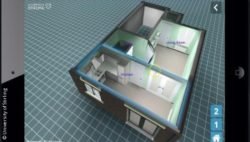 Photo: A 3D-Animation of a home; Copyright: University of Stirling