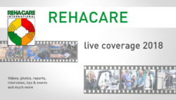 Graphic: Live coverage REHACARE 2018; Copyright: Messe Düsseldorf