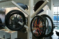 Photo: Trade fair booth of Loopwheels; Copyright: beta-web/Heiduk